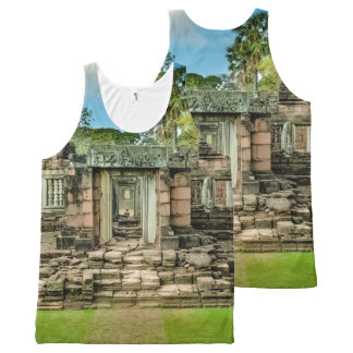 Angkor Wat temple Cambodia UNESCO All-Over-Print Tank Top