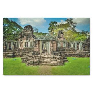 Angkor Wat temple Cambodia UNESCO Tissue Paper