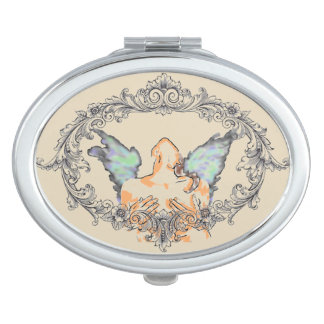 ANGLE COMPACT MIRROR FOR MAKEUP