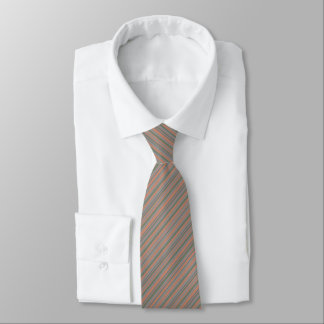 Angle wise Stripes pattern Tie