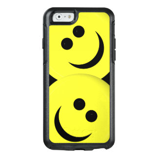 Angled Smiley Faces Phone Case