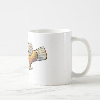 Angler fish love coffee mug