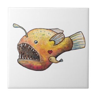 Angler fish love tile