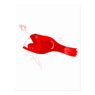 Anglerfish Postcard