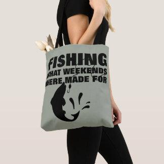 Anglers Fishing Themed Funny Slogan Tote Bag