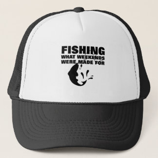 Anglers Fishing Themed Funny Slogan Trucker Hat