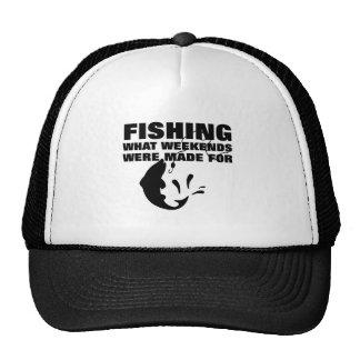 Anglers Fishing Themed Funny Slogan Trucker Hat