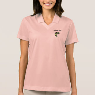 Anglers Women's Dri-Fit Pique Polo Shirt