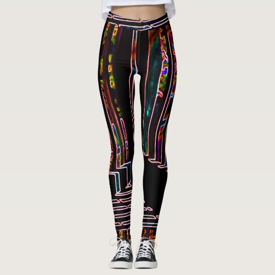 Angles And Lines 2 Leggings