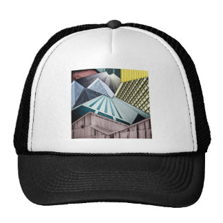 Angles of City Structures Trucker Hat