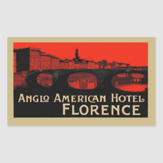 Anglo American Hotel (Florence) Sticker