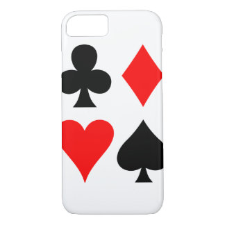 Anglo Card Suits iPhone 8/7 Case