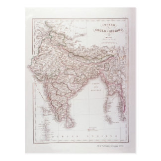 Anglo-Indian Empire Postcard