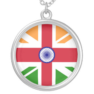 Anglo Indian Indentity, Hungary Silver Plated Necklace