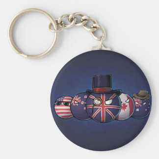 Anglo-Saxon Countryballs Keychain