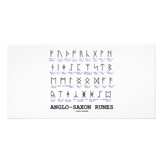 Anglo-Saxon Runes (Linguistics Cryptography) Photo Cards