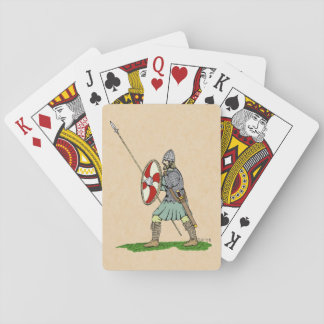 Anglo-Saxon Warrior Playing Cards