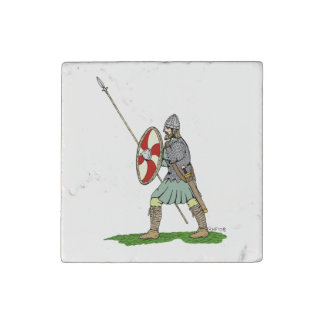 Anglo-Saxon Warrior Stone Magnets