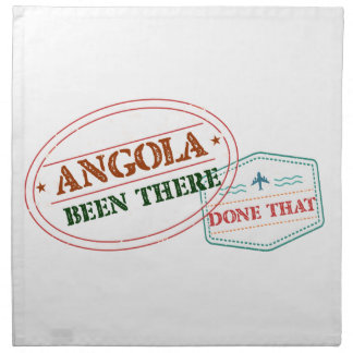 Angola Been There Done That Napkin