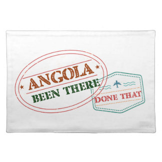 Angola Been There Done That Placemat