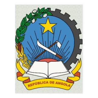 Angola Coat of Arms detail Postcard