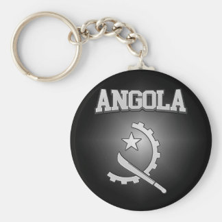 Angola Coat of Arms Keychain