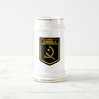 Angola Emblem Beer Stein