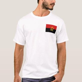Angola Flag and Map T-Shirt