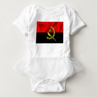 Angola Flag Baby Bodysuit