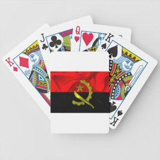 Angola Flag Bicycle Playing Cards