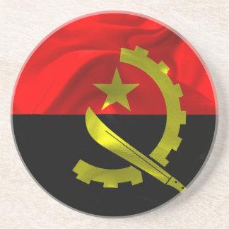 Angola Flag Coaster
