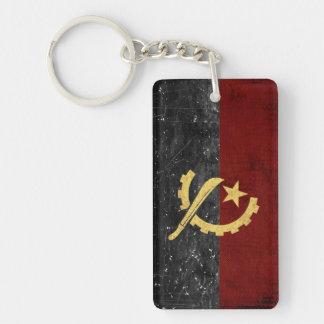 Angola Flag Key Chain Souvenir
