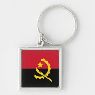 Angola Flag Keychain