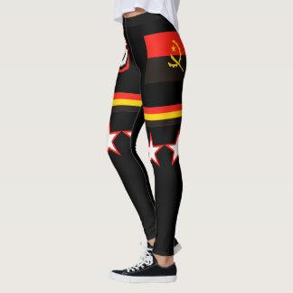 Angola  Flag Leggings