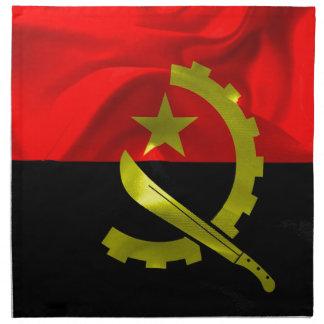 Angola Flag Napkin