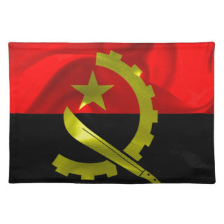 Angola Flag Placemat