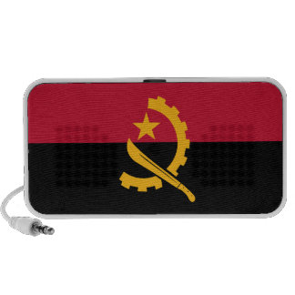Angola flag portable speaker from OrigAudio