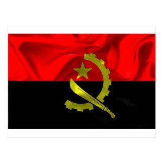 Angola Flag Postcard