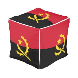 Angola Flag Pouf