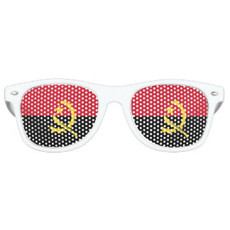 Angola Flag Retro Sunglasses