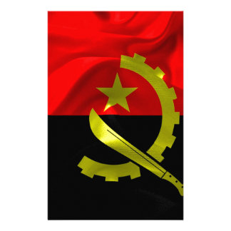 Angola Flag Stationery