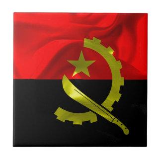 Angola Flag Tile
