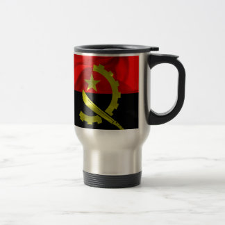 Angola Flag Travel Mug