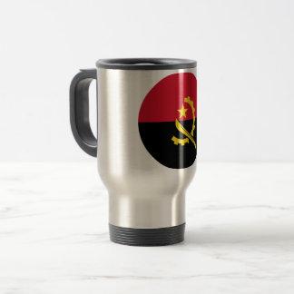 Angola Flag Travel Mug