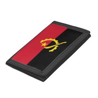 Angola Flag Trifold Wallet