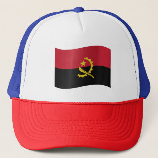 Angola Flag Trucker Hat