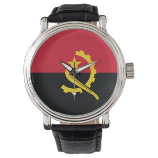 Angola Flag Watch
