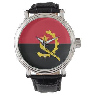 Angola Flag Watch