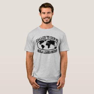 Angola Luanda Mission - LDS Mission CTSW in White T-Shirt