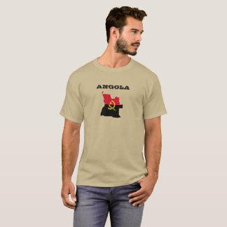 Angola Map Flag Shirt